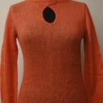 Джемпер оранжевый