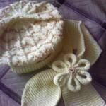 Детский берет и шарфик