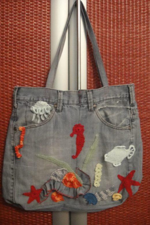 Идеи из старых джинсов своими руками сумки 59