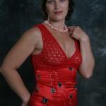 Платье. Кокетка вязаная