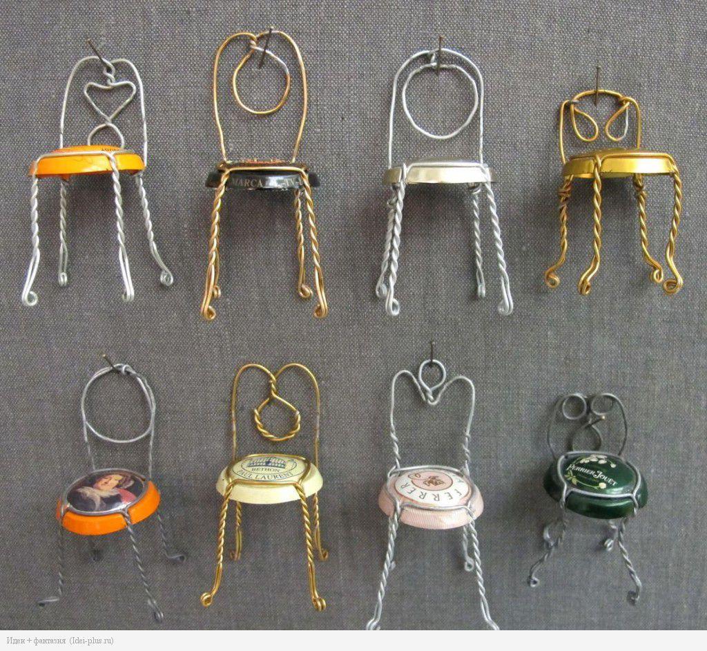 Как из проволоки сделать стул