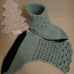 Носки с ажурным верхом