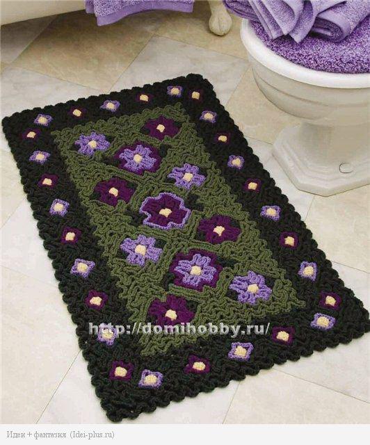 вязание-коврика-крючком