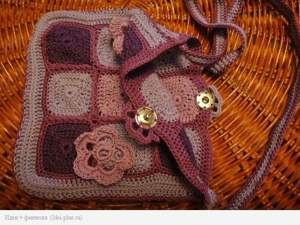Застежка сумочки