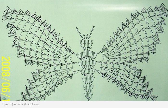 Схема бабочки 2