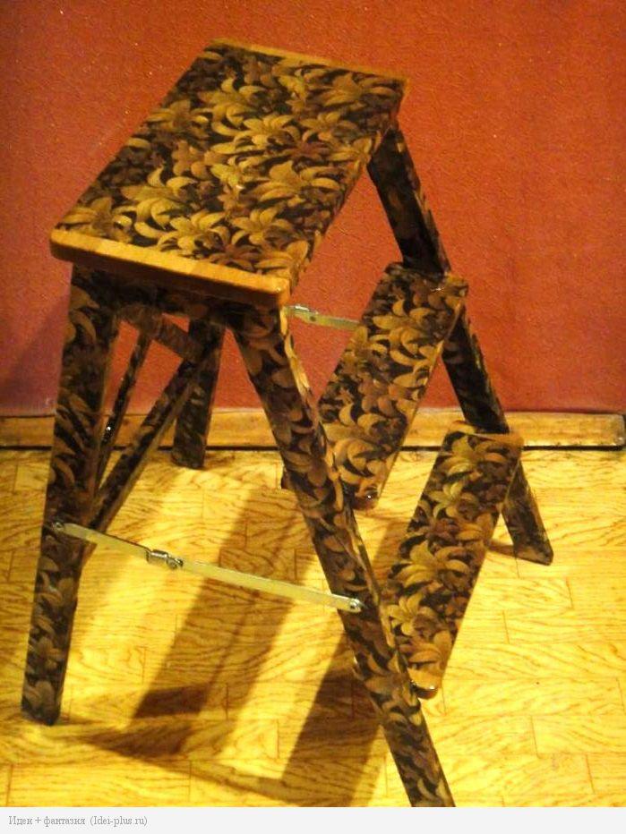 Декорированная лестница