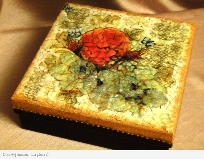 Декорированная коробочка