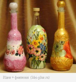 """""""Цветочные"""" бутылочки"""
