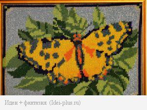 "Вышивка бисером ""Бабочка"""