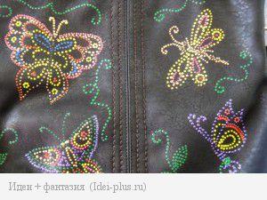 Рисунок на сумке