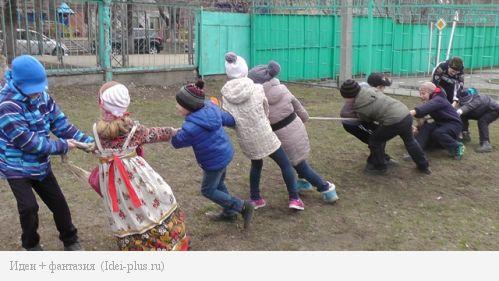 Школьная Масленица
