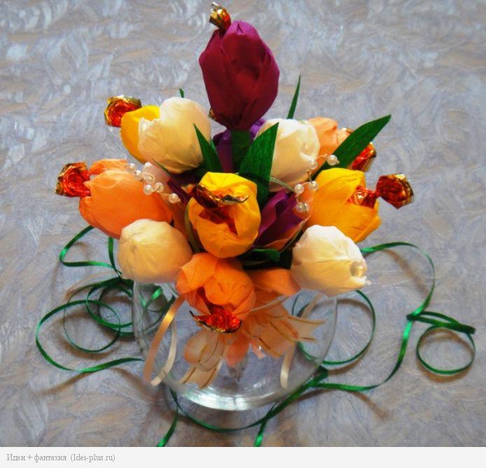 Букетик тюльпанов