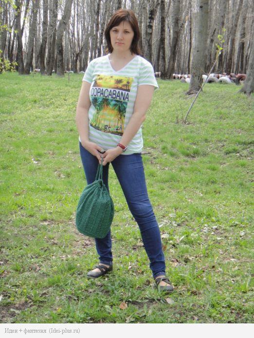 На прогулке с рюкзачком