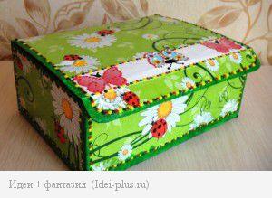 Коробка декупаж