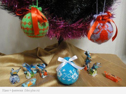 Вязание шары