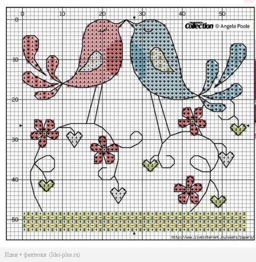 Схема Птички