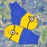 Носочки-миньоны